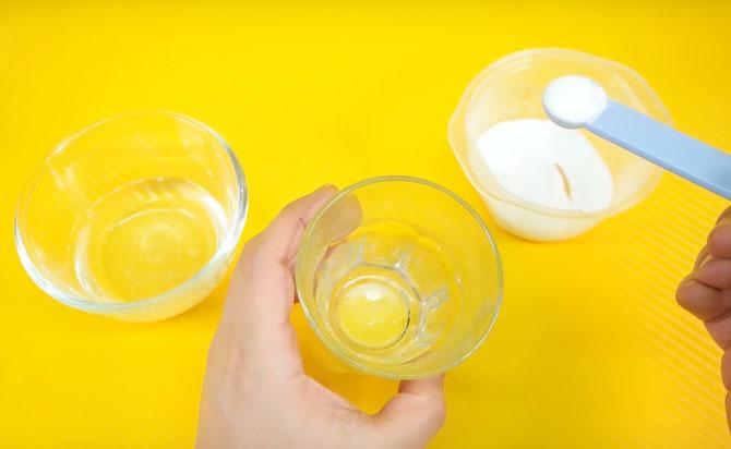Рецепт как сделать прозрачный или клеар слайм в домашних условиях