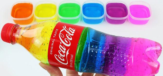 Как можно сделать жидкий слайм в домашних условиях