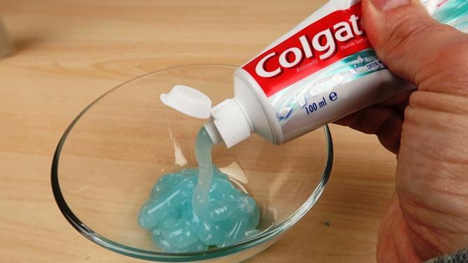 Как сделать слайм из зубной пасты, проверенные рецепты