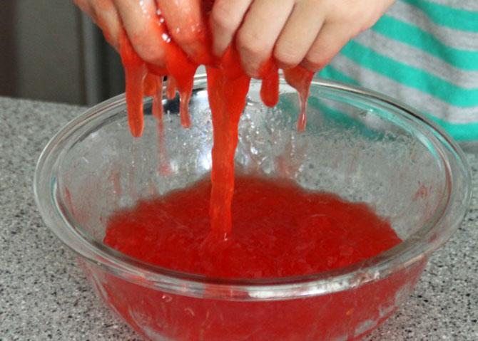 Как своими руками сделать слайм без клея, тетрабората и без пены